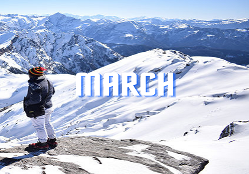 March Treks