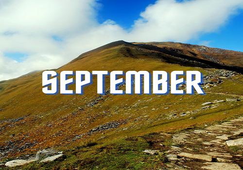 September Treks