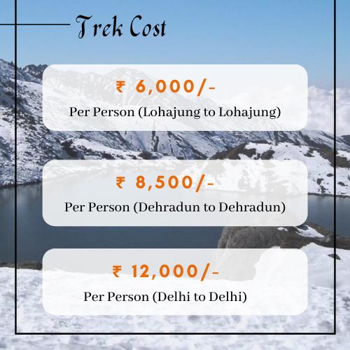 Brahmatal Trek Cost