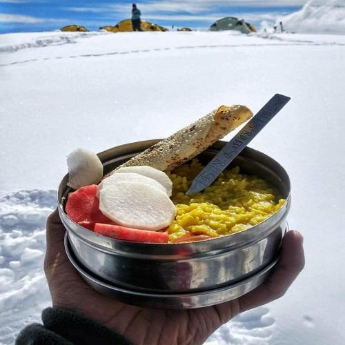 food at raftaar adventure