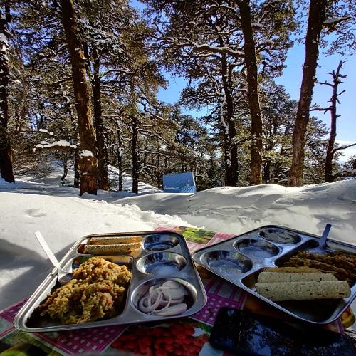food menu at raftaar adventure