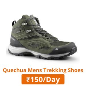 Quechua mens trekking shoes