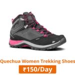 quechua women trekking shoes