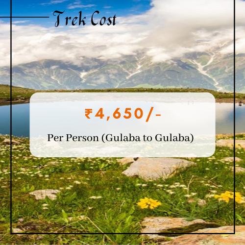 Bhrigu Lake Trek Cost