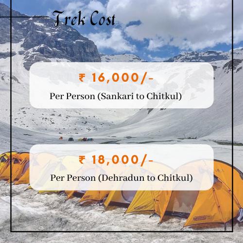 Borasu Pass Trek Cost