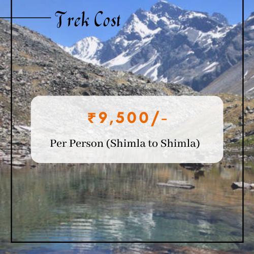 Chandranahan Lake Trek Cost
