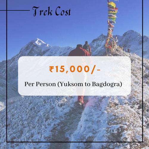 Dzongri Trek Cost