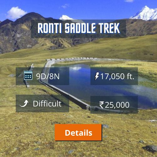 Ronti Saddle Trek