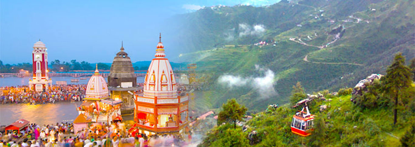 haridwar rishikesh with mussoorie tour